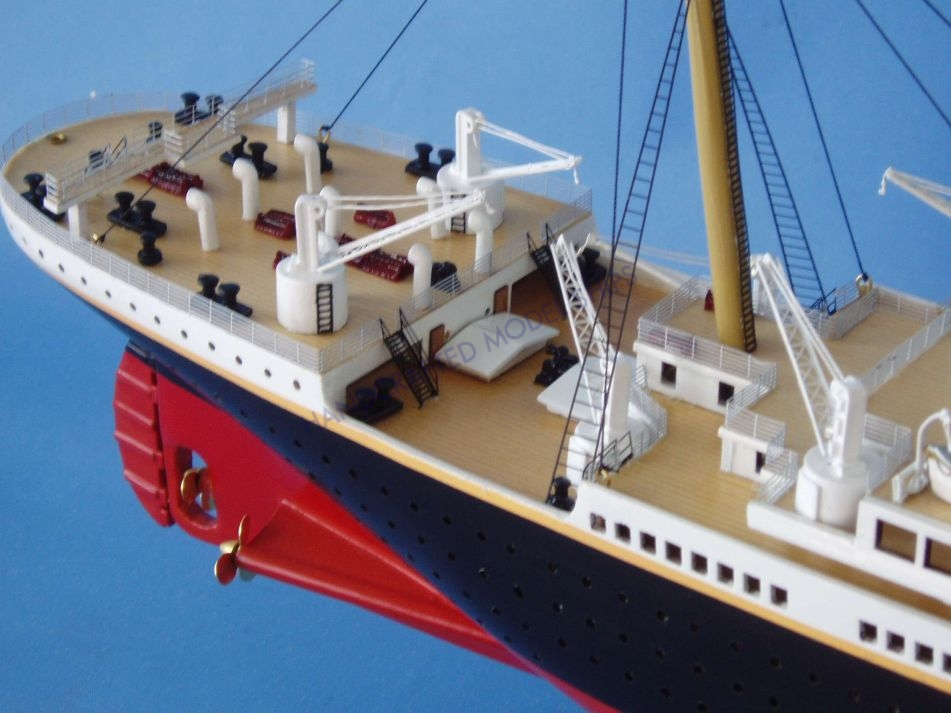 Rms Titanic 40 Quot Model W Led Lights 1 Of 10 Ever Made